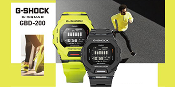 G-SHOCK Expands Its G-SHOCK MOVE Lineup with Innovative GBD200 Models